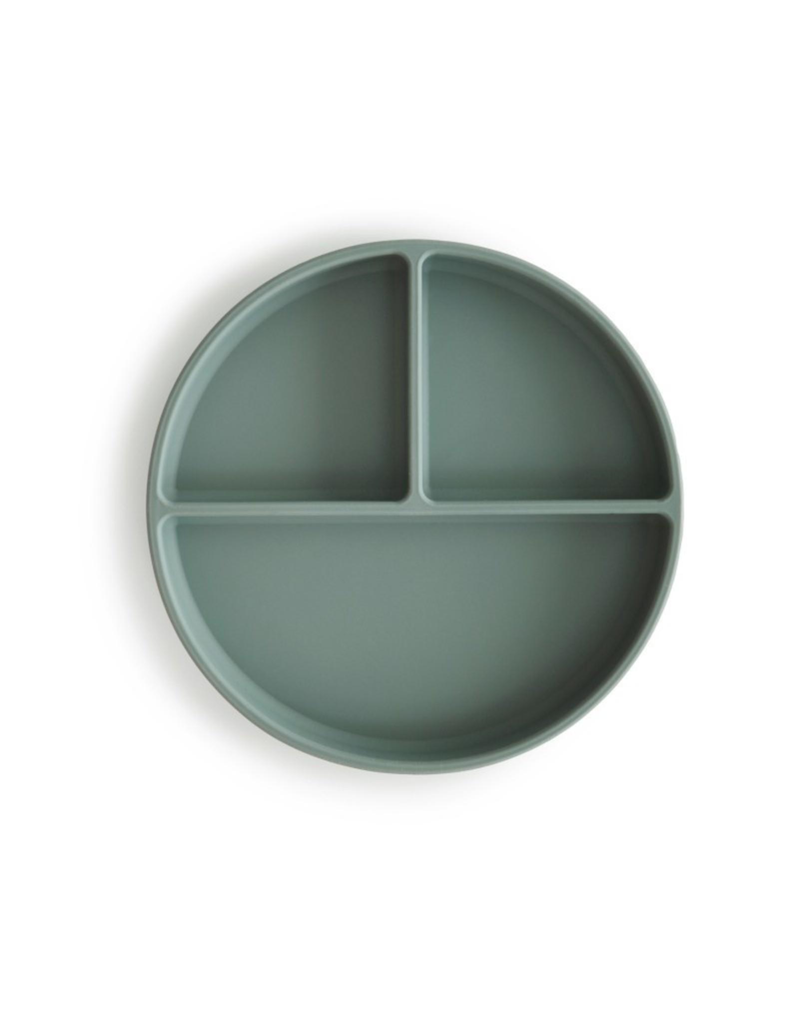 Mushie Cambridge blue Siliconen Slab