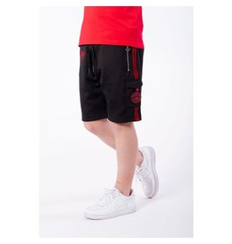 Black Bananas Jr. Unity Short Black/Red