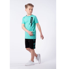 Black Bananas Jr. Verso Tee Aqua
