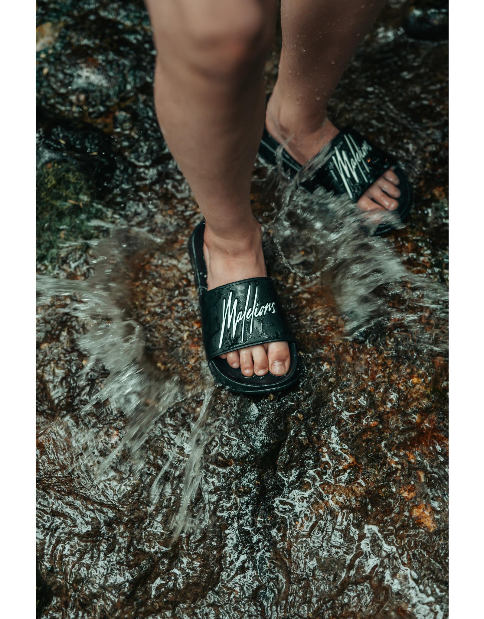 Malelions Junior Slides Black