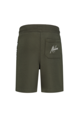 Malelions Junior Homekit Short Army - Off-white