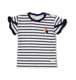 Feetje T-shirt streep - Sweet Gelato Marine