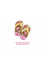 Go Banana's Flamingo flip flops