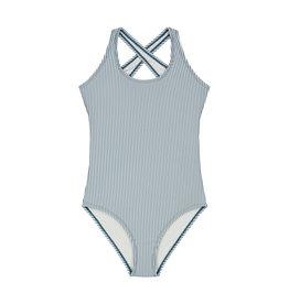Shiwi girls cote d'azur swimsuit patagonia blue