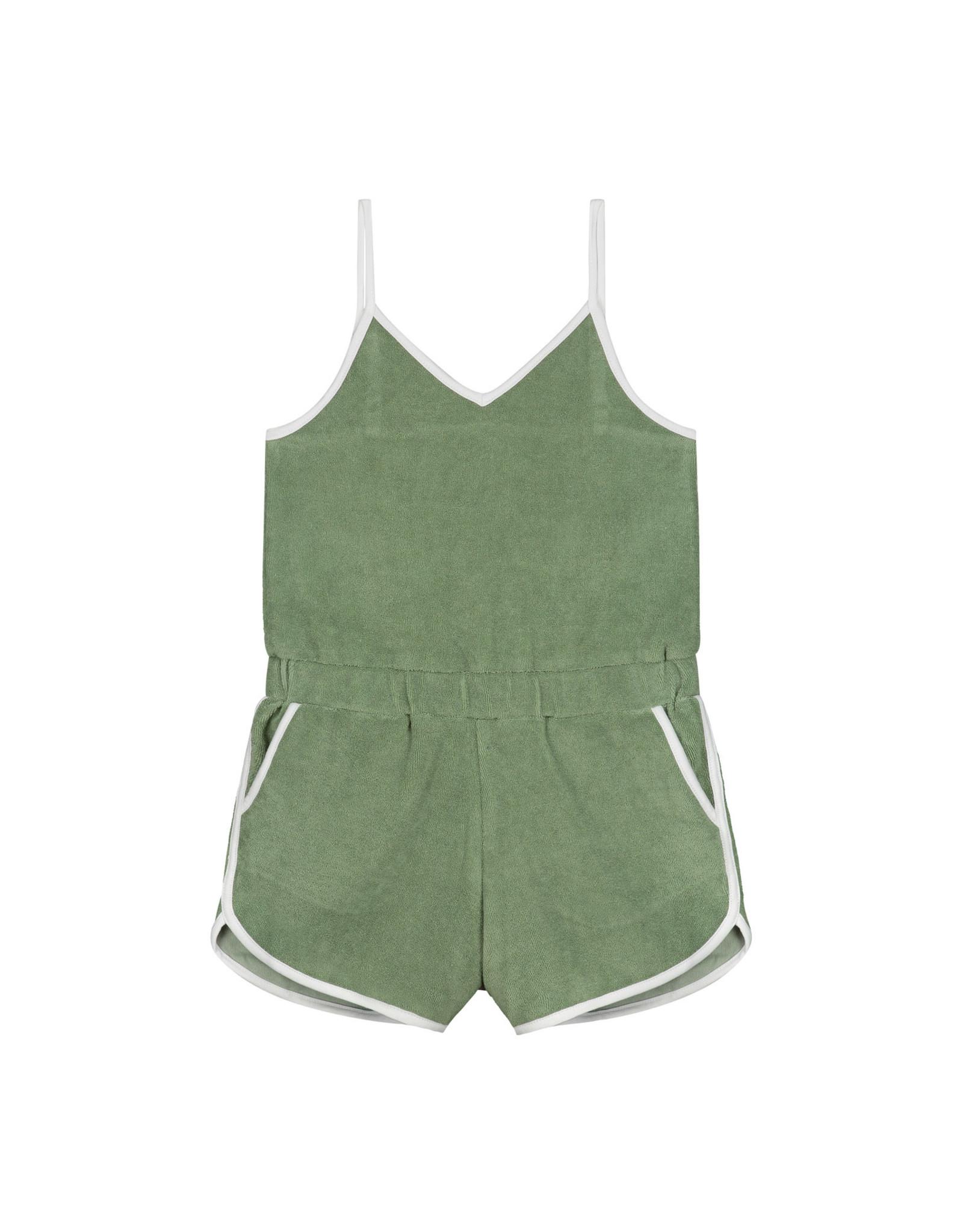 Shiwi girls braga jumpsuit dusty pistache green