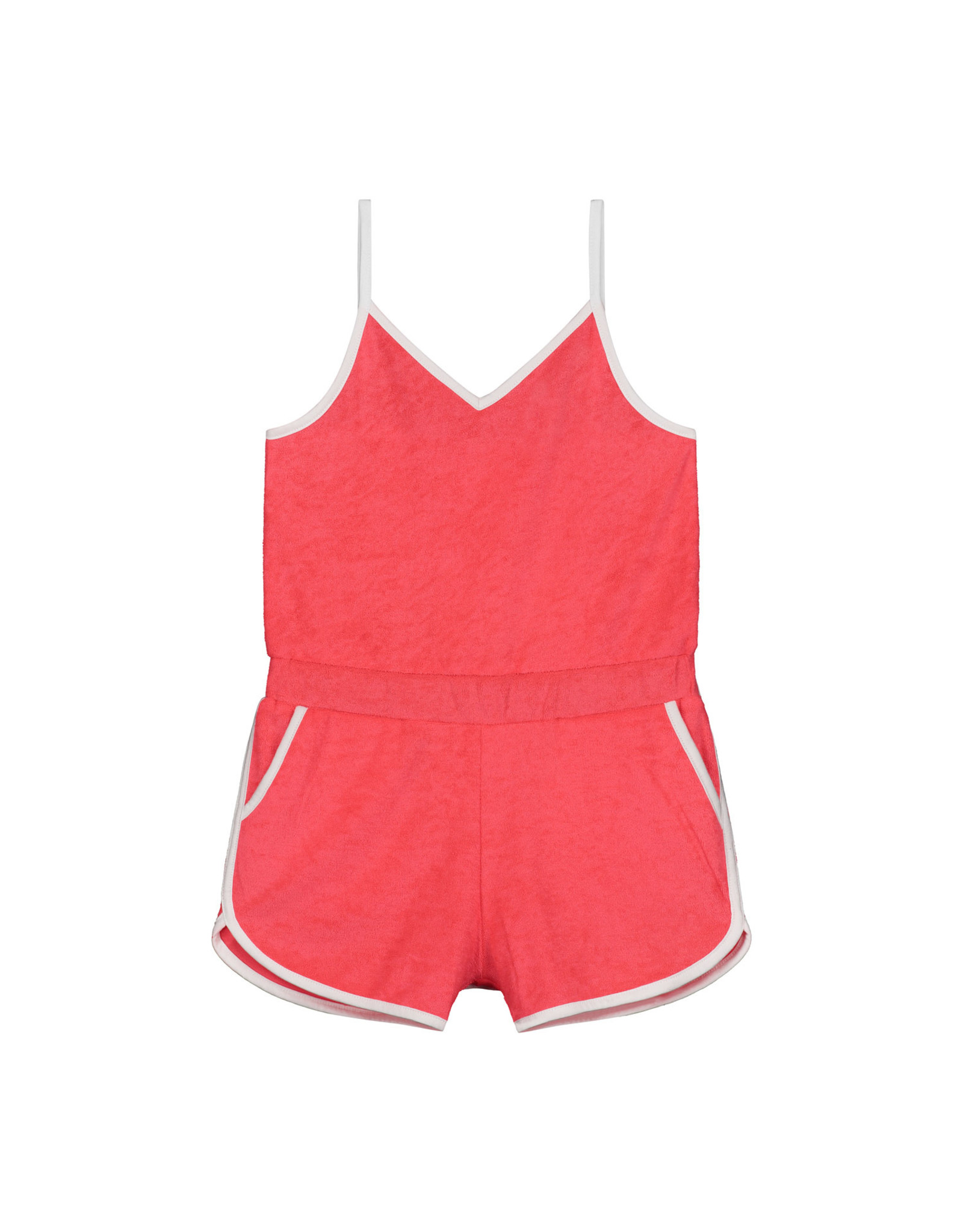 Shiwi girls braga jumpsuit fluo red