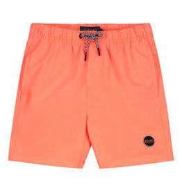Shiwi boys swimshort magic palmtree neon orange