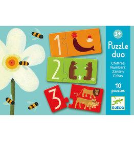 Djeco Puzzel Duo Nummers