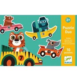 Djeco Duo Puzzel Racewagen