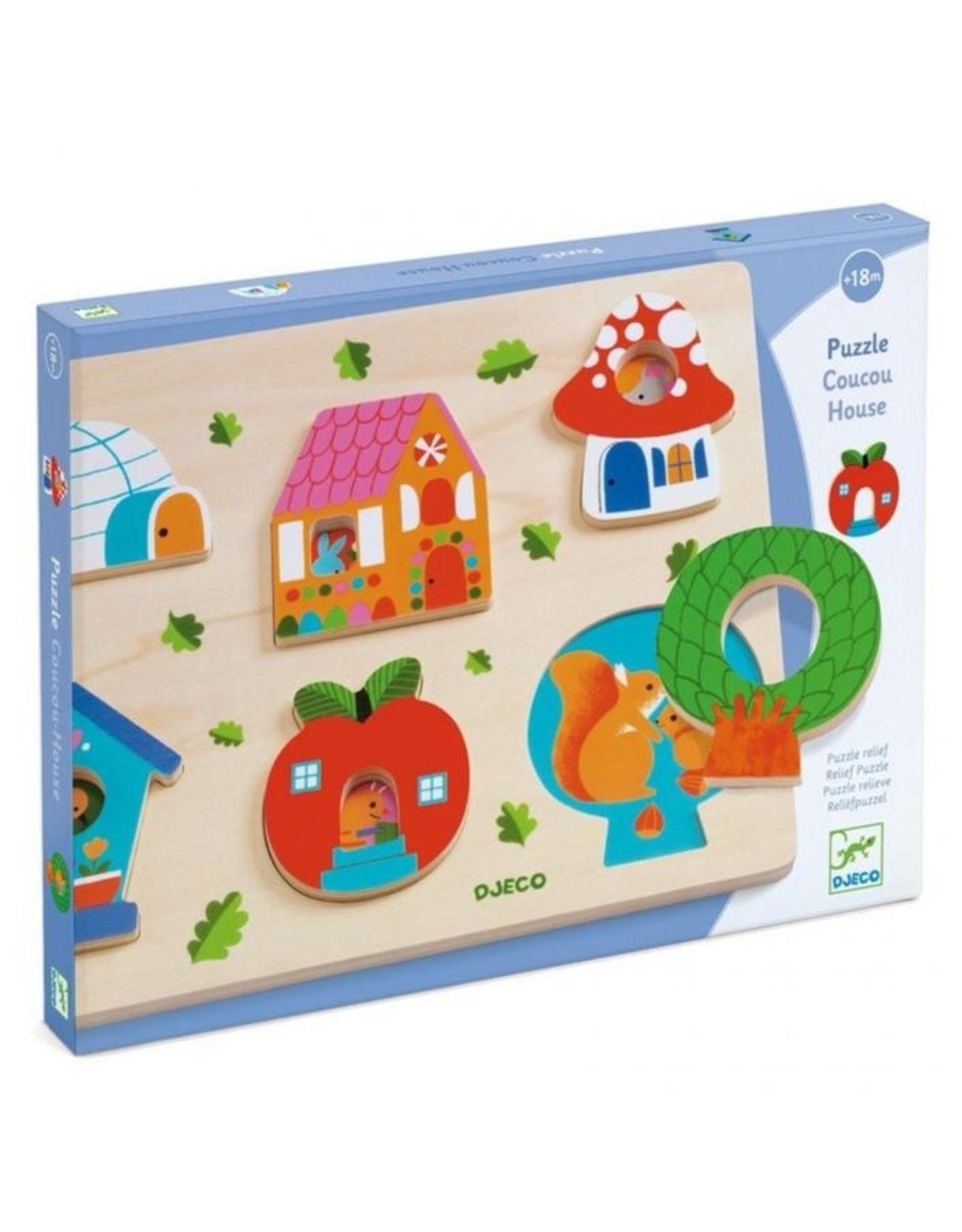 Djeco puzzel Coucou House