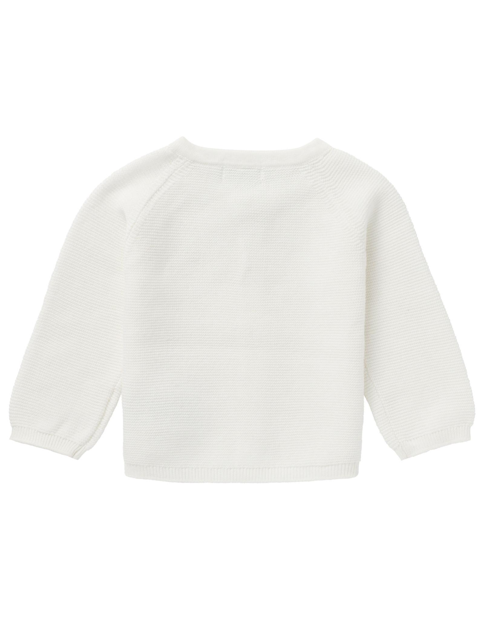Noppies U Cardigan knit Naga White
