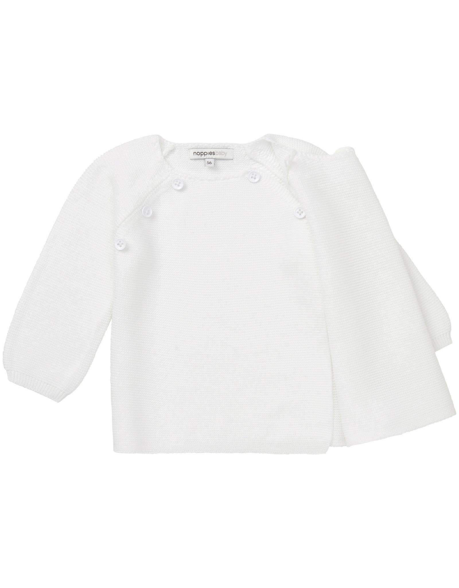 Noppies U Cardigan Knit ls Pino White