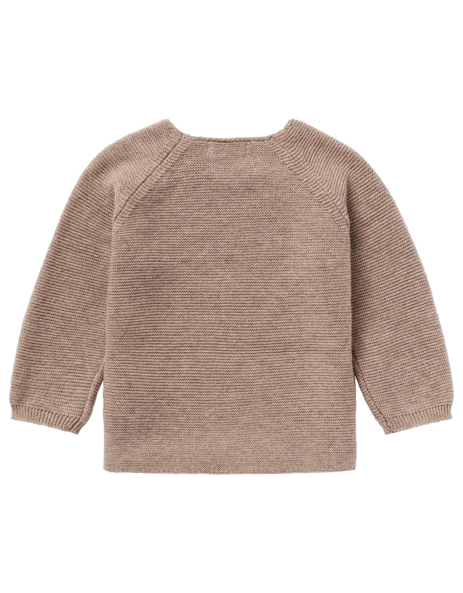 Noppies U Cardigan Knit ls Pino Taupe Melange