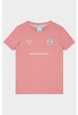 Black Bananas Jr. F.C. Basic Tee Pink