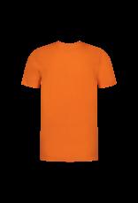 Malelions Junior T-shirt Tonny Orange/Black