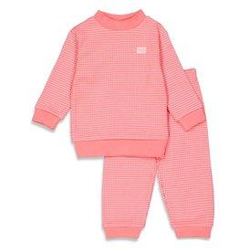 Feetje Pyjama Wafel Roze Summer Special