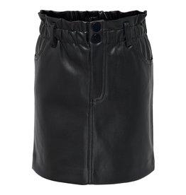 Kids Only Konmaiya-Miri Faux Leather Skirt Cp Black