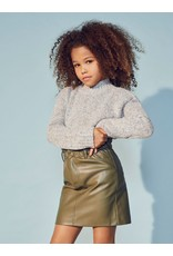 Kids Only Konmaiya-Miri Faux Leather Skirt Cp Sea Turtle