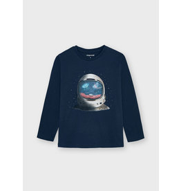 Mayoral L/s t-shirt Indigo