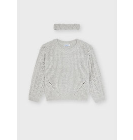 Mayoral Sweater with turban Pearl