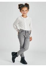 Mayoral Basic skinny pants Light Gray