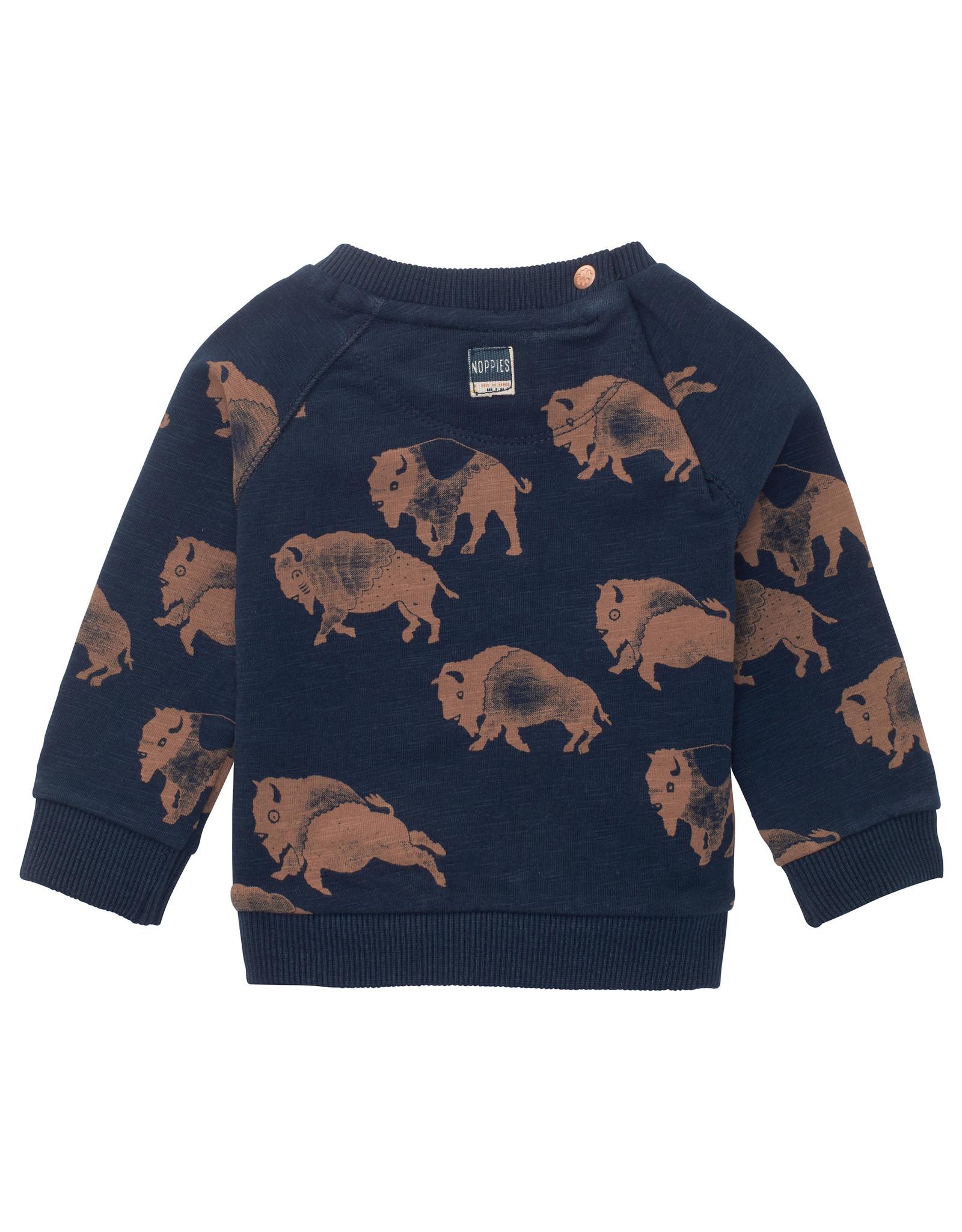 Noppies B Sweater LS Roanoke* Black Iris