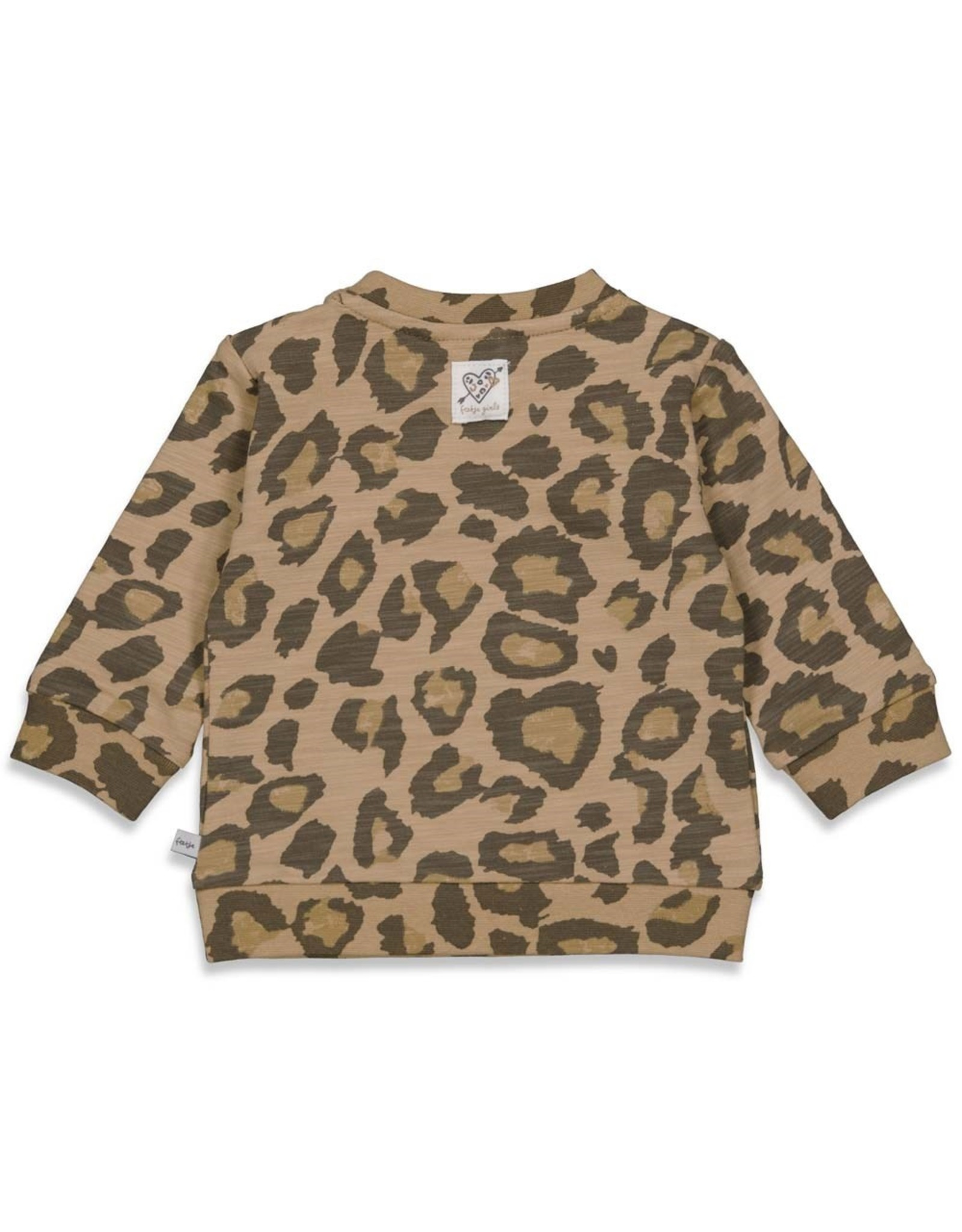 Feetje Sweater AOP Made Of Dreams Zand