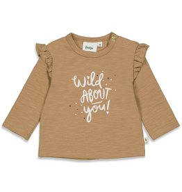 Feetje Longsleeve About You Wild At Heart Camel