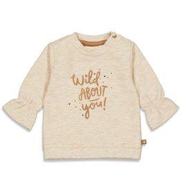 Feetje Sweater Wild At Heart Offwhite melange