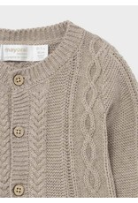 Mayoral Knit leg warmer set Brown vigo