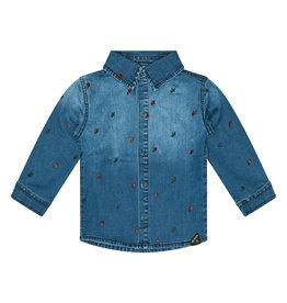 Retour Jeans Baby Boys Divo Shirts Medium Blue Denim