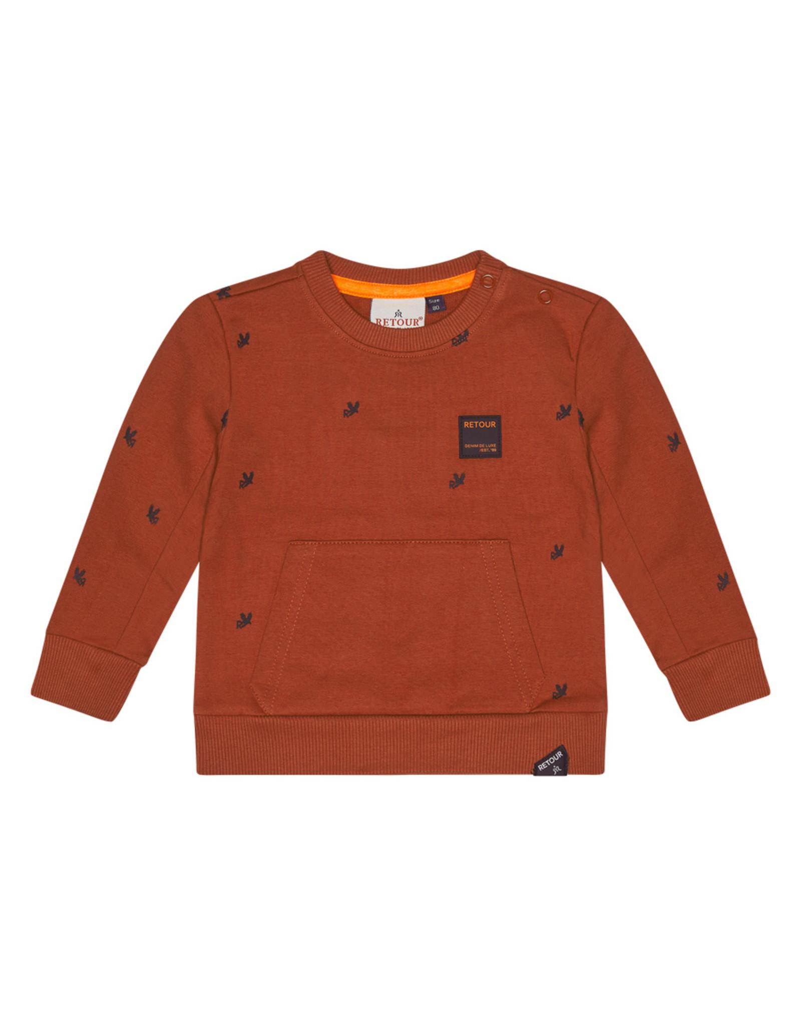 Retour Jeans Baby Boys Kenji Sweaters Brique