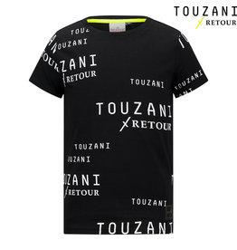 Retour Jeans Boys Soccer T-Shirts Black