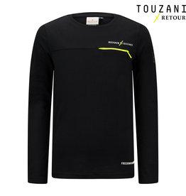 Retour Jeans Boys Goal T-Shirts Black