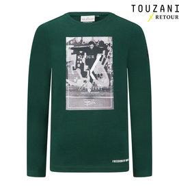 Retour Jeans Boys Slide T-Shirts Dark Green