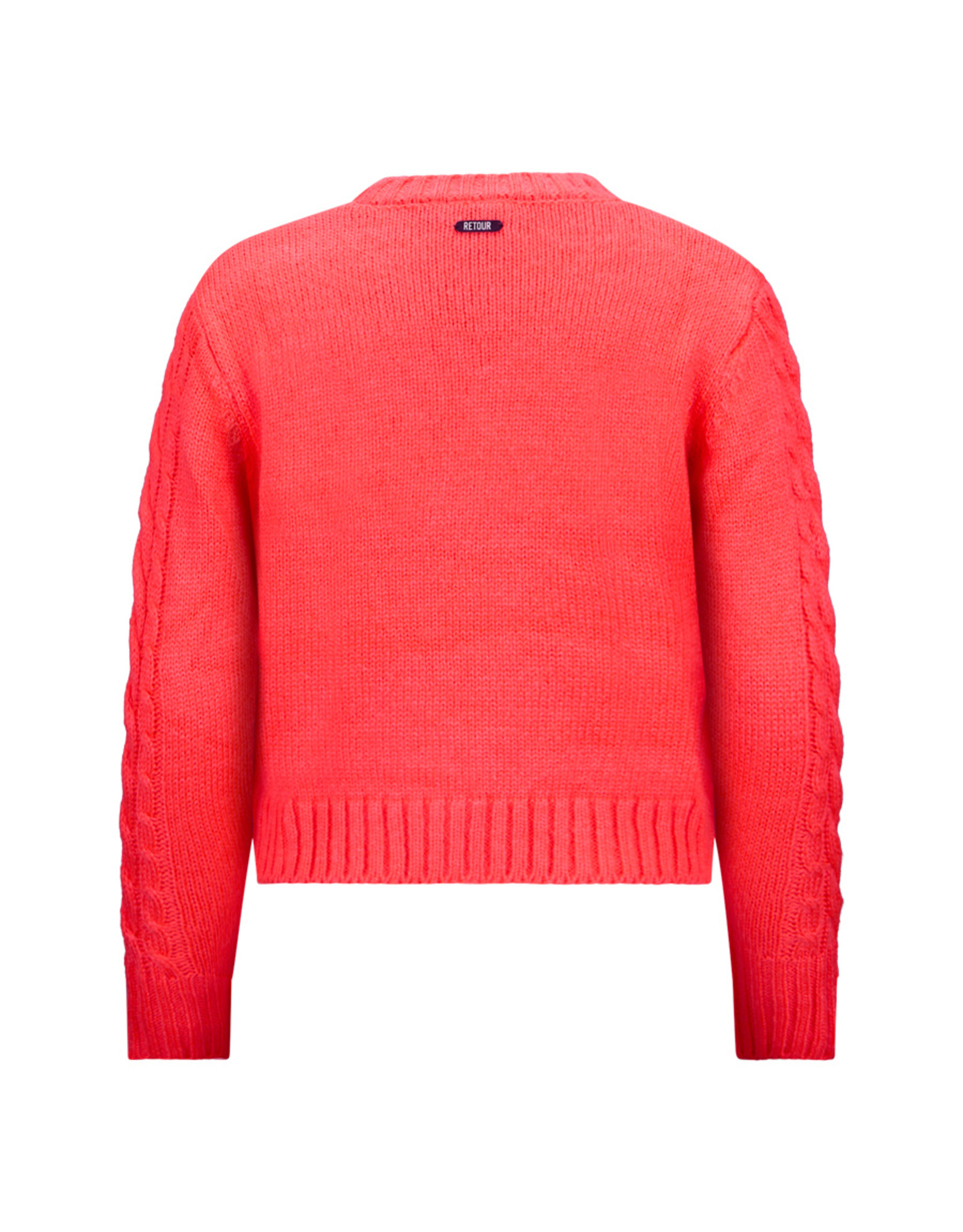 Retour Jeans Girls Beppie Knitwear Neon Coral