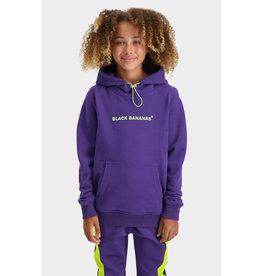 Black Bananas Jr Mania Hoody Purple/Lime