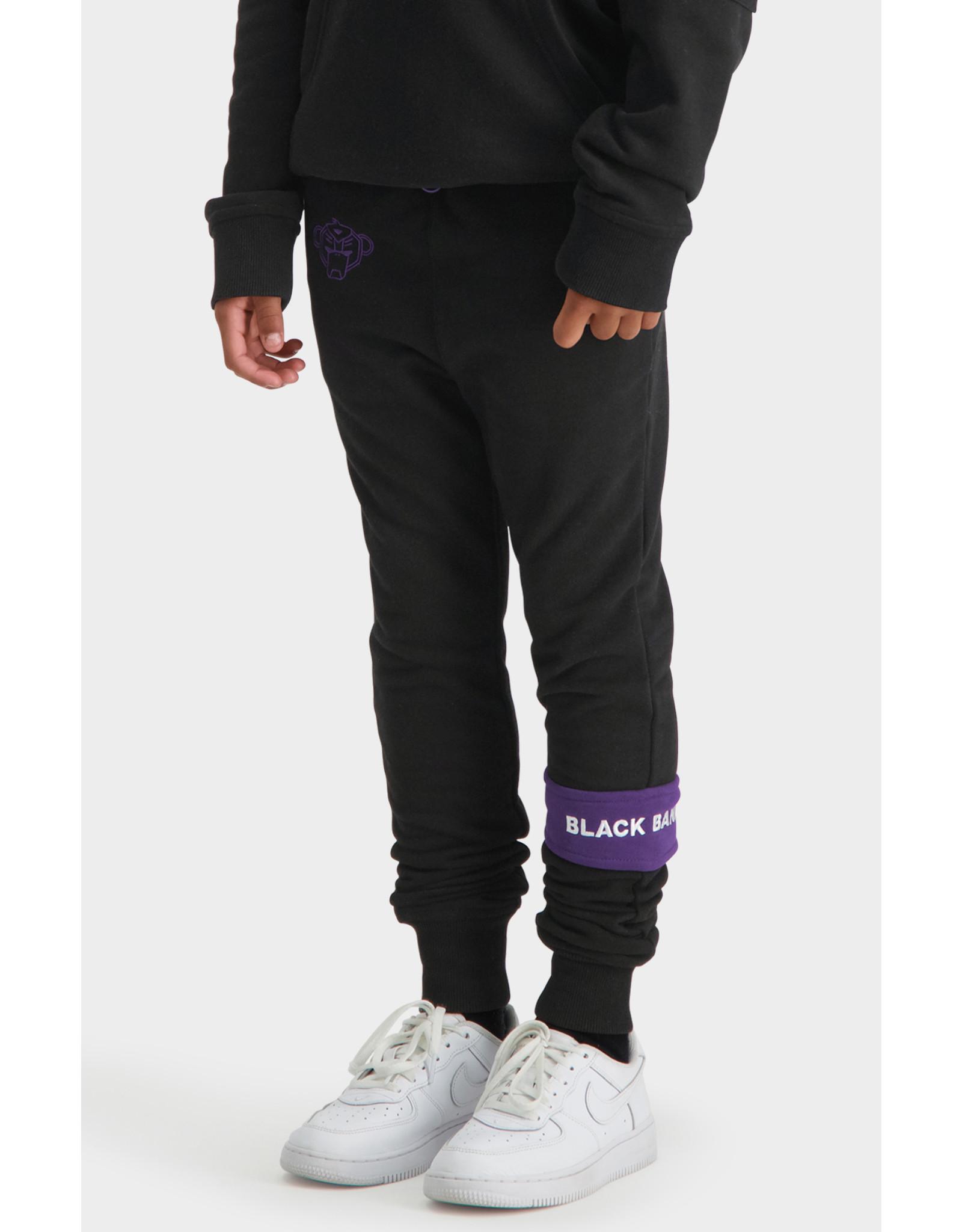 Black Bananas Jr Command Sweatpants Black/Purple