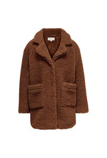 Kids Only Konnewaurelia Sherpa Coat Cp Otw Ginger Bread
