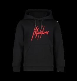 Malelions Junior Signature Hoodie Black/Red