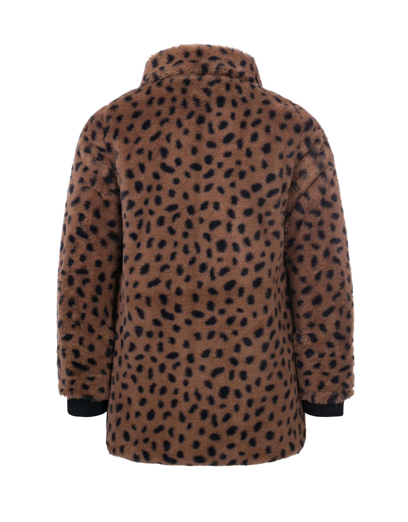 LOOXS Little Little jacket cheeta fur cheeta