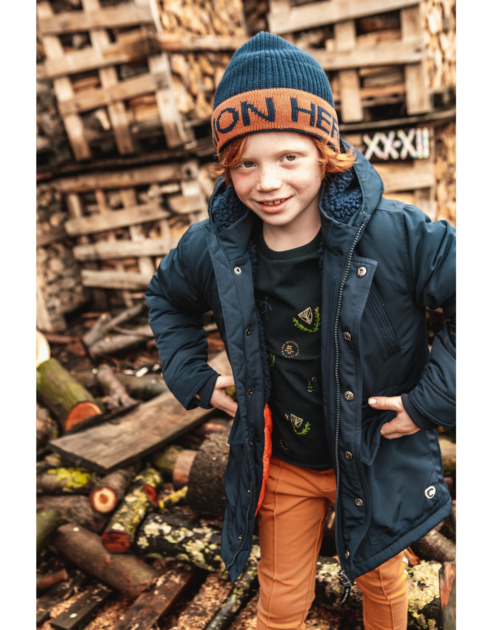 Common Heroes Parka jacket Midnight
