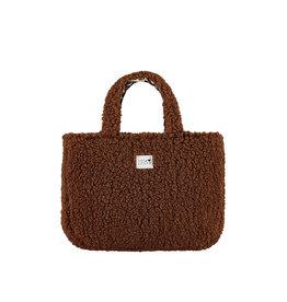 LOOXS Little Little bag teddy reversible Brown
