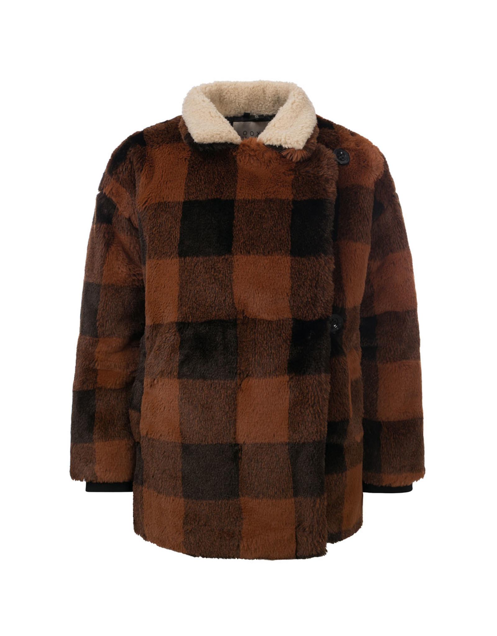 LOOXS 10sixteen Check fur Fur check