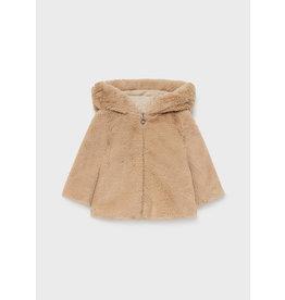 Mayoral Fur coat Beige