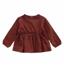 Your Wishes Shirt Plain Slub Bella Brick