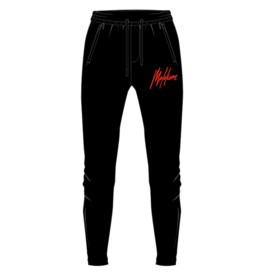 Malelions Junior Signature Trackpants Black/Red