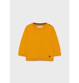 Mayoral Basic Crew Neck Sweater Ochre