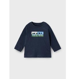 Mayoral L/S Basic T-Shirt Blue