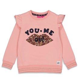 Jubel Sweater - Club Amour Roze